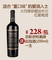 大玛雅珍藏加本力红葡萄酒